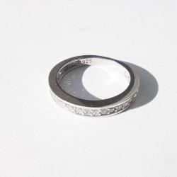 Sidabrinis žiedas su 1 eil....