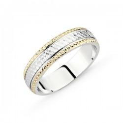Puošnus sidabro žiedas...
