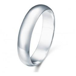 4 mm klasikinis sidabro žiedas