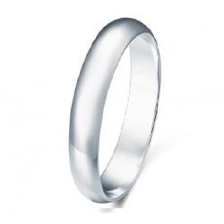 3mm sidabro žiedas