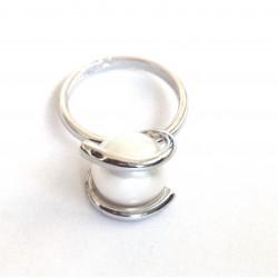 perlas ¦ žiedas su tikru...