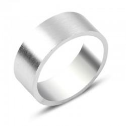 Platus 8 mm sidabrinis...