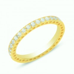 Auksuotas žiedas su...