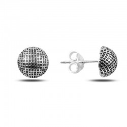 0,8 cm sidabriniai auskarai