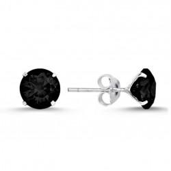 4-7 mm juodi auskarai 6-9 €