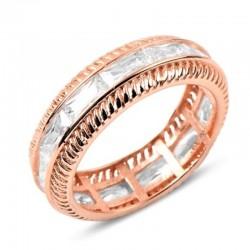 Paauksuotas žiedas su...