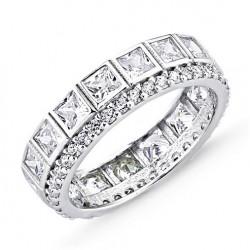 Žiedas su kvadratiniais...