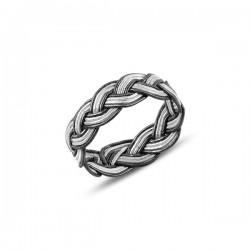 Pintas  6 mm sidabro žiedas