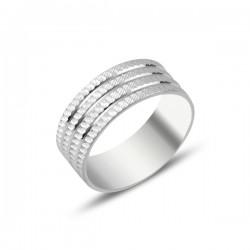 8 mm sidabrinis žiedas...
