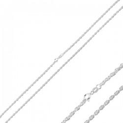 45-70 cm sidabrinė Rope...