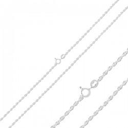 50-70 cm sidabrinė Rope...